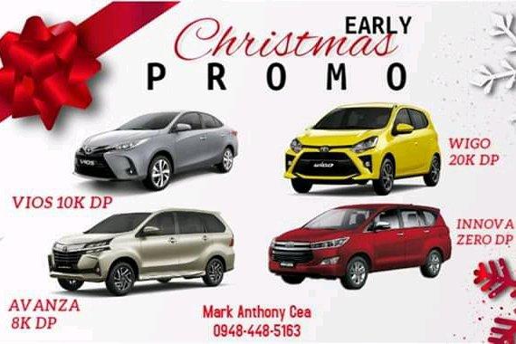 Toyota Lowest Down Promo