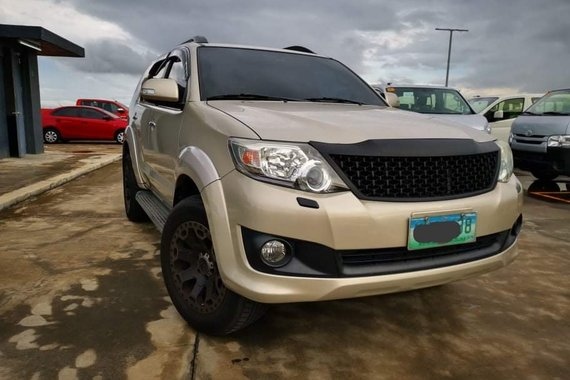 2012 Toyota Fortuner 2.5 4x2 G A/T