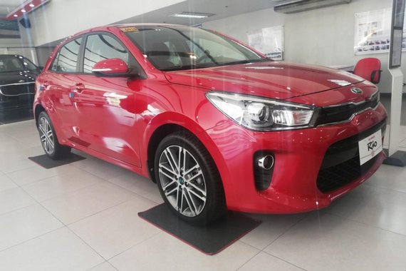 Sell Red 2019 Kia Rio in Makati City