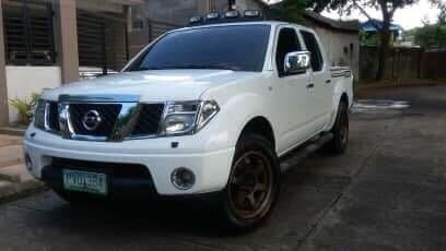 White Nissan Frontier 2010 for sale in Manila
