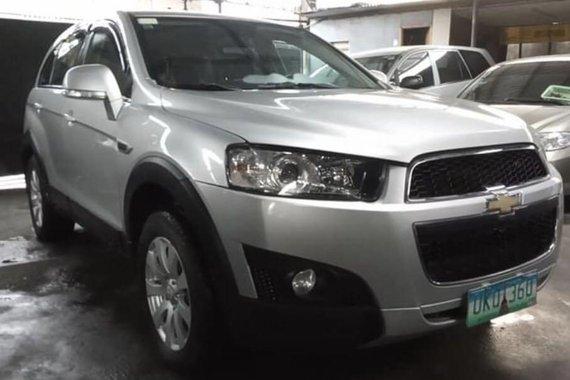 Sell Silver Chevrolet Captiva 2013 in Manila