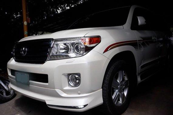 2015 Toyota Land Cruiser Bulletproof Auto