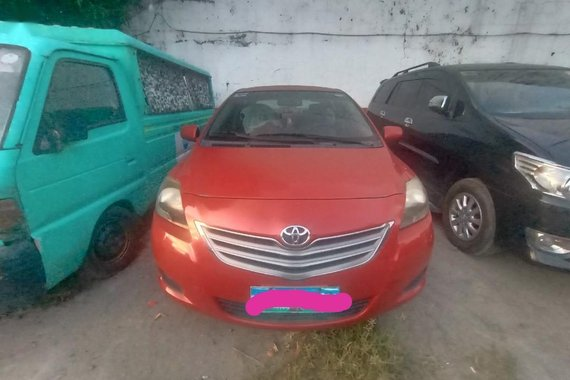 Red Toyota Vios 2012 for sale in Manila