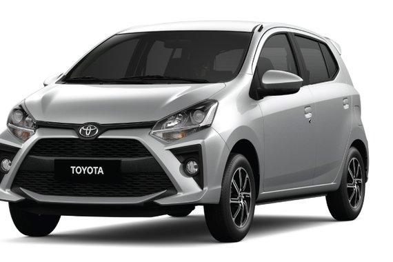 Own a TOYOTA MC WIGO 1.0G AT today with LOWEST DOWNPAYMENT ever!!!