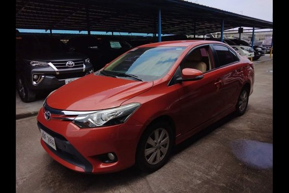 Sell Red 2015 Toyota Vios in Paranaque City