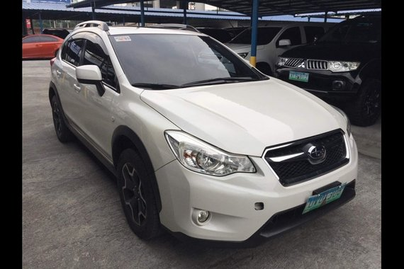 Sell White 2012 Subaru XV in Manila