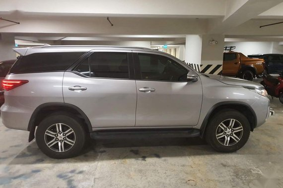Sell Silver 2017 Toyota Fortuner in Pasig