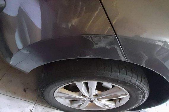 Grey Hyundai Tucson 2013 for sale in Manila