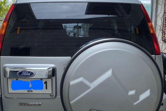 Silver Ford Everest 2004 for sale in Batangas