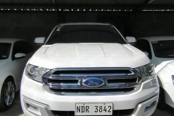 2016 Ford Everest Trend 2.2 Automatic Auto