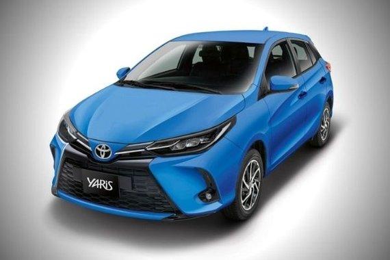 Toyota Yaris shot 1
