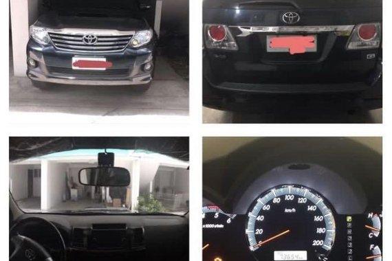Toyota Fortuner G Auto 2014
