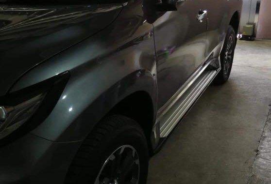Silver Mitsubishi Montero 2016 for sale in Bulacan