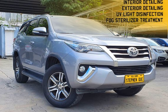 2016 Toyota Fortuner 4x2 G 2.7 A/T Gas