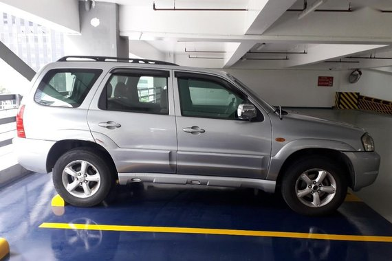 Silver Mazda Tribute 2007 for sale in Quezon