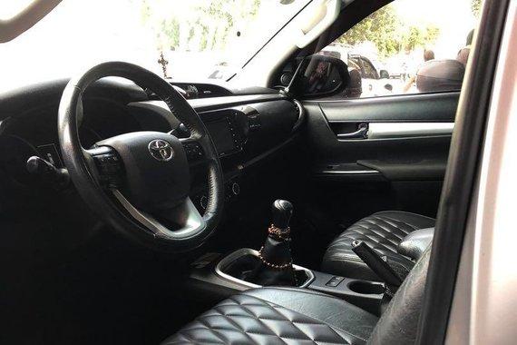 Toyota Hilux Manual 2018