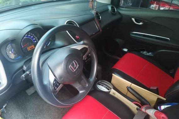 Selling Black Honda Mobilio 2015 in Quezon