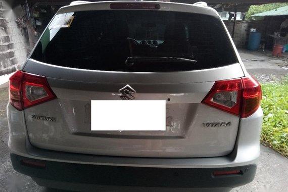 Selling Silver Suzuki Vitara 2018 in Manila