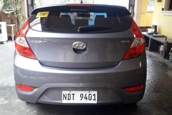 Silver Hyundai Accent 2016 for sale in Paranaque