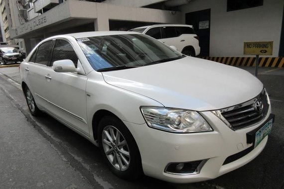 2010 TOYOTA Camry 2.4G automatic transmission for only P520,000.