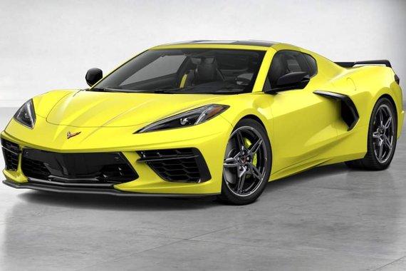 Brand new 2021 Chevrolet C8 Corvette 2LT