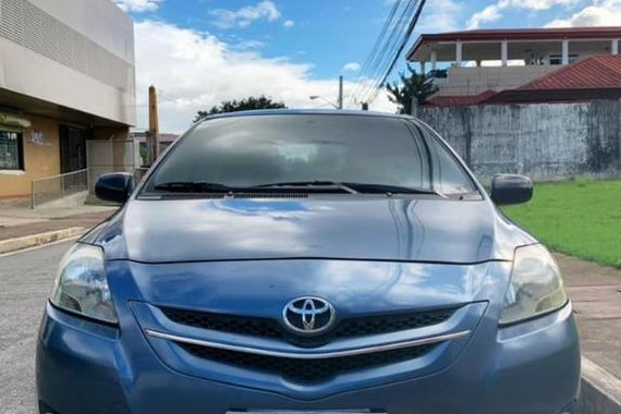 Blue Toyota Vios 2008 for sale in Marikina