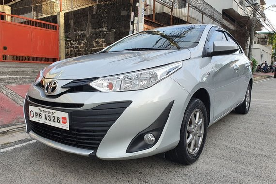 Reserved! Lockdown Sale! 2020 Toyota Vios 1.3 XLE Automatic Silver 4T Kms Only P6A326