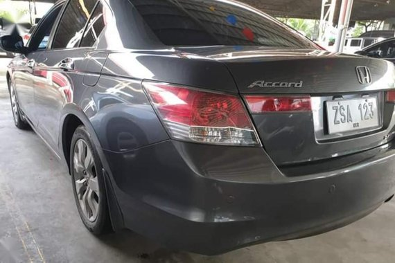 Grey Honda Accord 2008 for sale in Manila