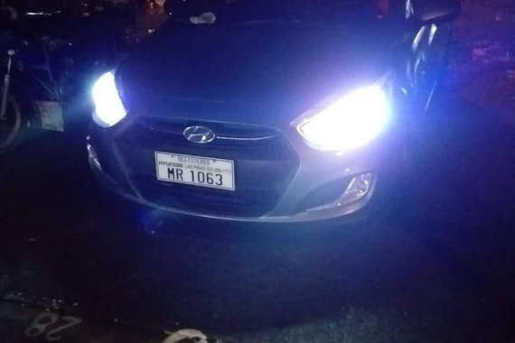 Selling Silver Hyundai Accent 2016 in Binangonan
