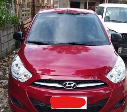 Selling Red Hyundai I10 2014 in Pateros