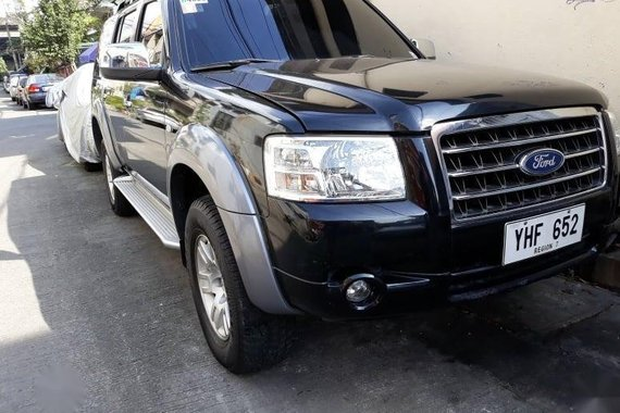 Black Ford Everest 2009 for sale in Manila