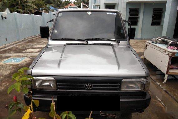 Selling Brightsilver Toyota Tamaraw 1996 in Ipil