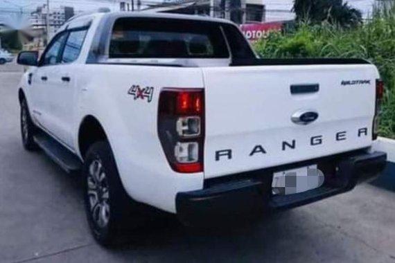 White Ford Ranger Wildtrak 2017 for sale in Aglipay