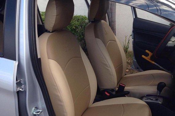 Selling Brightsilver Mitsubishi Mirage 2015 in Quezon