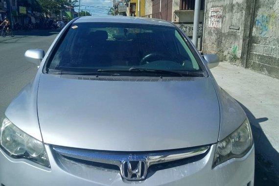 Brightsilver Honda Civic 2008 for sale in Quezon