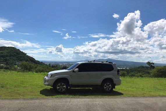 White Toyota Land Cruiser Prado 2008 for sale in Las Pinas