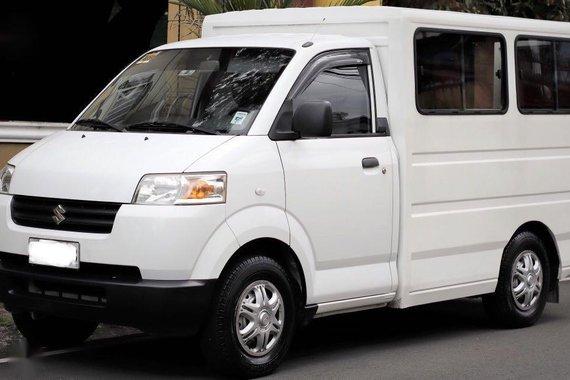 White Suzuki APV 2017 for sale in Manila