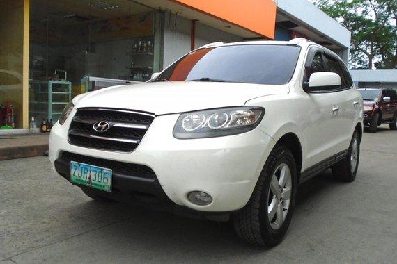 2007 Hyundai Santa Fe 4x2 Automatic White