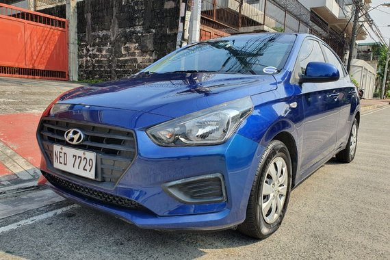 Calasiao, Pangasinan Lockdown Sale! 2020 Hyundai Reina 1.4 GL Manual Blue 7T Kms Only NED7729