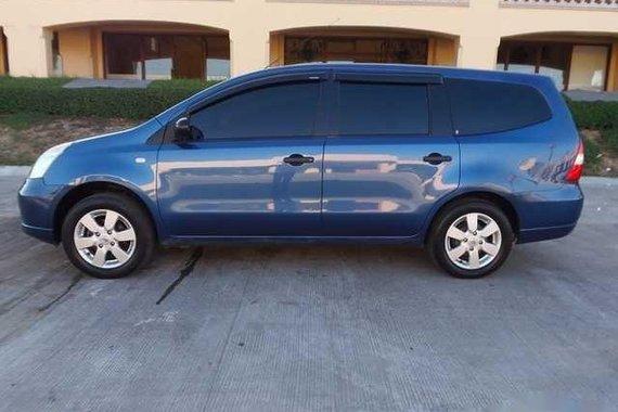 Blue Nissan Grand Livina 2010 for sale in Manila