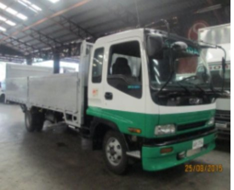 SELLING ISUZU FORWARD ALUMINUM HIGH SIDE TRUCK 4X2 6 WHEEL