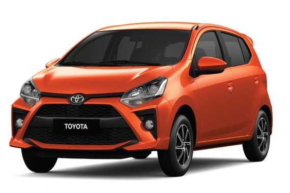 JANUARY PROMO IS WAVING! VERY LOW DP ALL NEW TOYOTA MC WIGO 1.0G AT