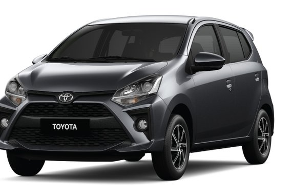 NEW YEAR PROMO! 29K ALL-IN DOWNPAYMENT TOYOTA MC WIGO 1.0G AT