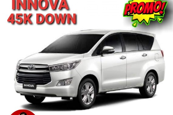 2021 Toyota INNOVA E 2.8 AT