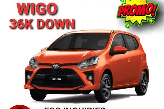 2021 Toyota WIGO 1.0 G AT