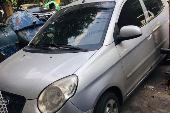Brightsilver Kia Picanto 2010 for sale in Manila