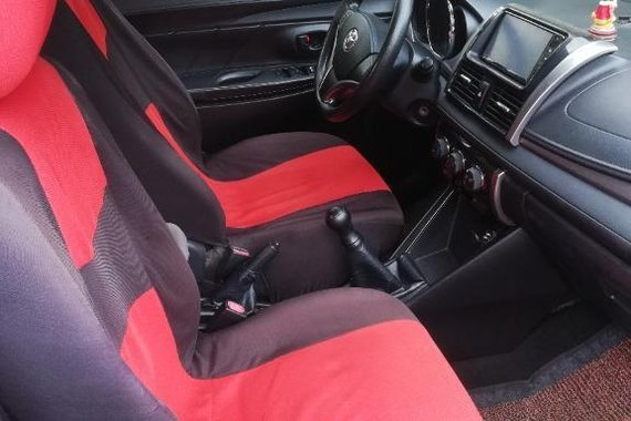 Red Toyota Vios 2016 for sale in Manila