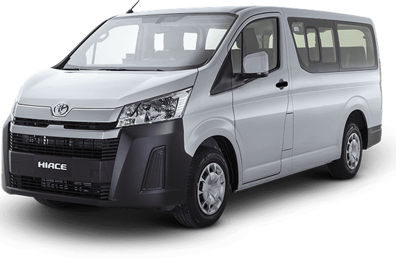 NEW YEAR, NEW CAR! LOWEST DP BRAND NEW TOYOTA HIACE COMMUTER DELUXE