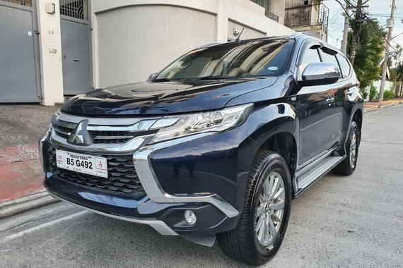 Reserved! Lockdown Sale! 2019 Mitsubishi Montero Sport 2.4 GLX 4X2 Manual Dark Blue 17T Kms B5G492
