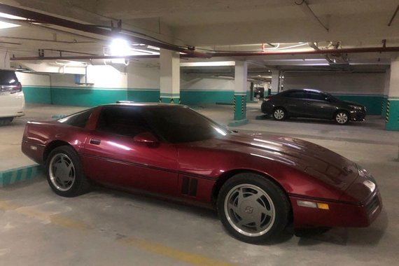 Selling Red Chevrolet Corvette 1989 in Pasay